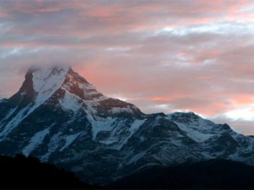 View from Mardi Himal trek