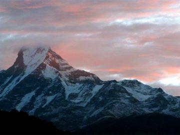 View from Mardi Himal trek