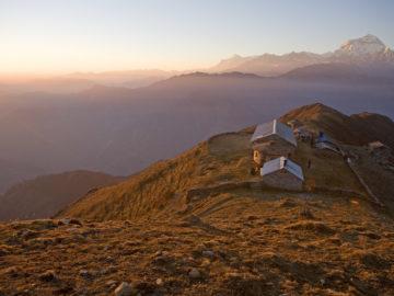 khopra ridge and holy Khayer lake trekking